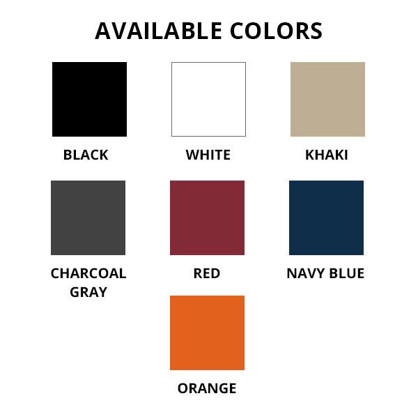 Baseball cap colorways