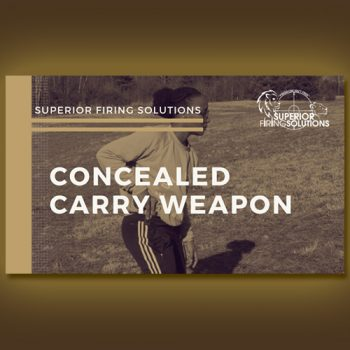 shooting course - concealed carry weapon class