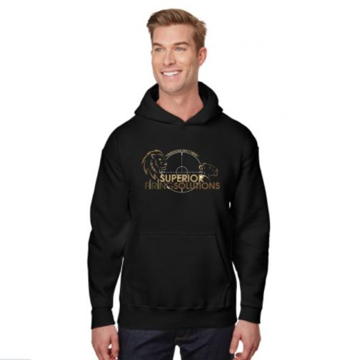 Superior Firing Solutions pullover hoodie sample